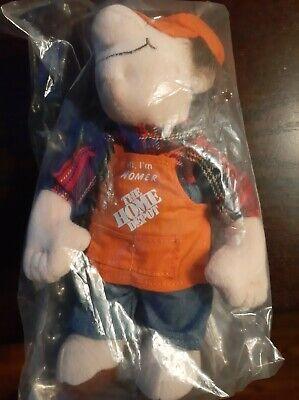 Vintage Home Depot Original,  Hi I'm Homer Doll (Brand New), Very Collectible !!