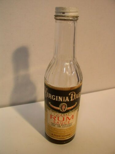 Virginia Dare Run Sauce Extract Paper Label Bottle Brooklyn NY