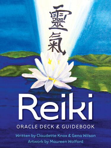 Reiki Oracle Deck & Guidebook Tarot CARD DECK U.S. GAMES