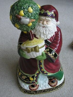 Twelve Days of  Christmas Cookie Jar Marketplace  First One Limited Edition
