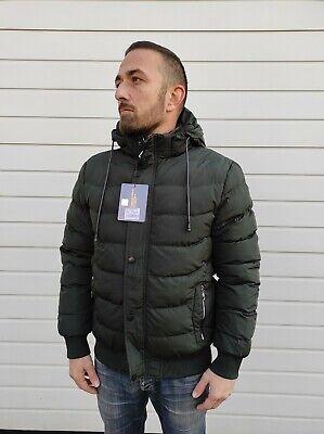 Piumino corto VERSACE 19.69 uomo dark green tg XXXL Italia 249 € art VI20AI0042