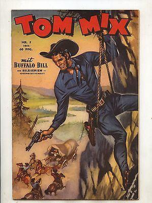 Original Tom Mix 1954 Nummer 5 ( 1 ) sehr guter Zustand Comicheft
