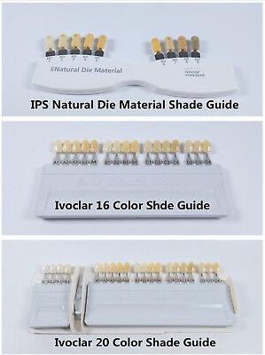Vita Dental Teeth Shade Guide Ivoclar Vivadent A-d 16 Color Porcelain Material