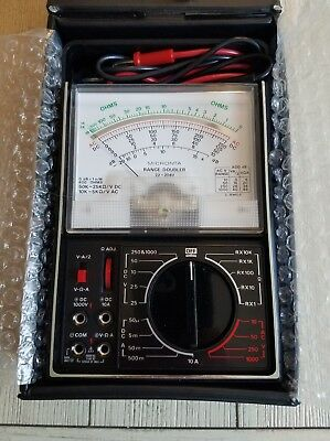 Radio Shack Micronta Range Doubler Multi-tester 22-204u Vintage Multi-meter