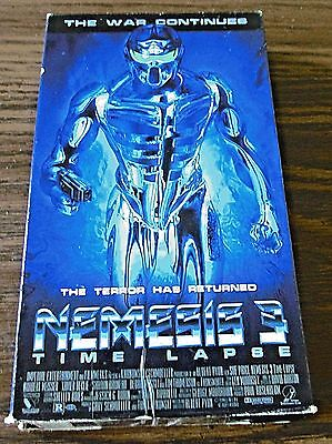 Nemesis 3: Time Lapse (VHS, 1996)