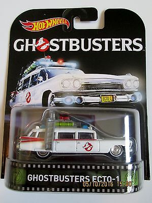 GHOSTBUSTERS HOT WHEELS ECTO-1