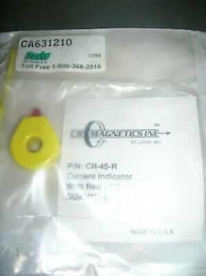 Cr Magnetics Cr-45-r Current Indicator With Red Led Sealed Pkg.