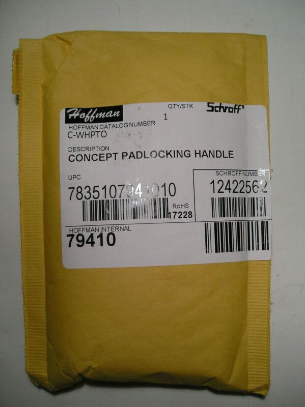 Hoffman C-WHPTO Concept Padlocking Handle Schroff 12422-562