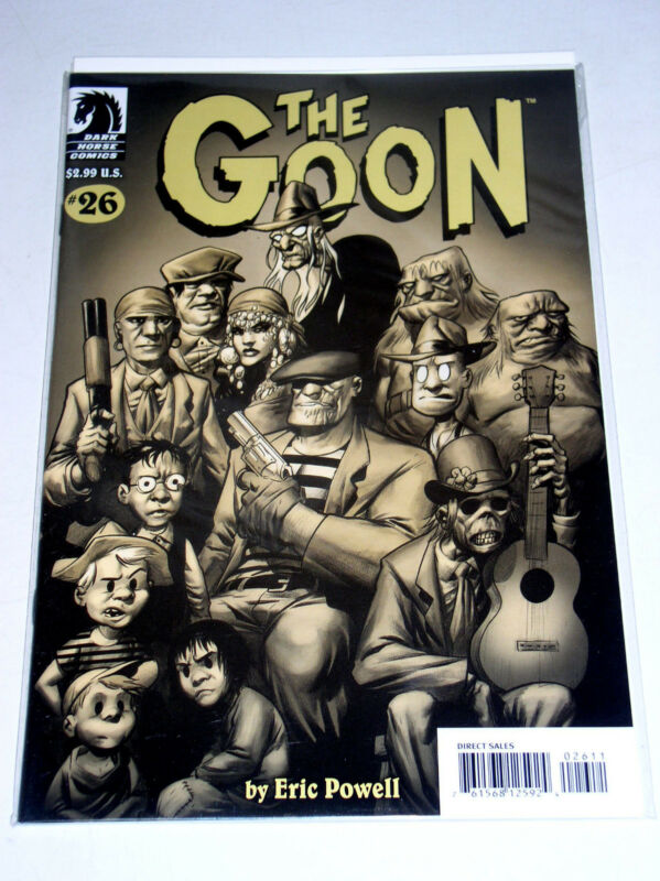 GOON #26  ERIC POWELL [VARIANT COVER] LOW PRINT- THE LABRAZIO GANG  nc