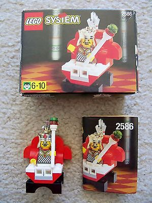 Lego Castle Chess   Super Rare Castle Chess King 2586   Complete W  Box