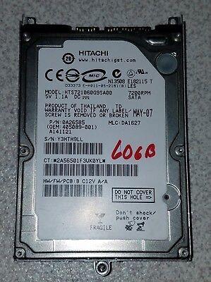 60gb Festplatte Caddy (HP / Compaq NC6400 NC Series Hard Drive Caddy Kit W Cover & 60GB SATA Hard drive)