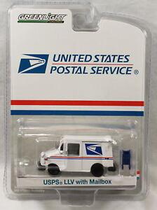 Greenlight United States Postal Service USPS LLV Mail Truck w/ Mailbox