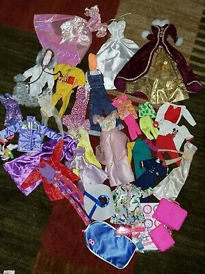 Large lot of Contemporary 80's - 90's Barbie Clothing Lot 2