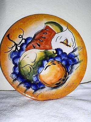 Twelve (12) Amora Decorative Plates - Made in Mexico