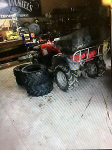 Atv/ four wheeler or trade for dirt bike