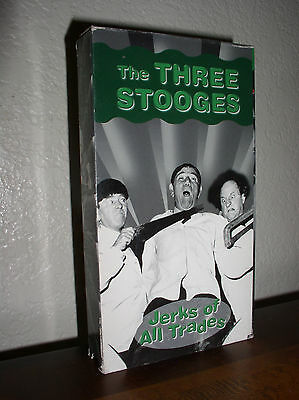 The Three Stooges: Jerks of all Trades  (VHS,B&W)
