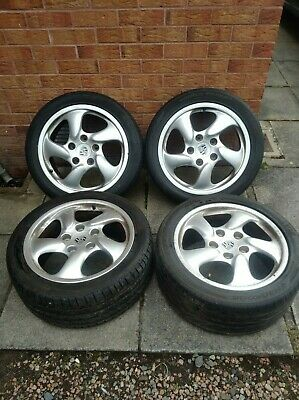 Porsche Boxster 986 Alloy wheels & tyres 98636212605 98636212400
