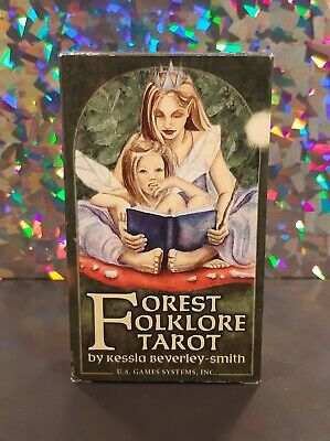 FOREST FOLKLORE TAROT 78-Card Deck ~ by Kessia Beverley-Smith OOP 2004 RARE New!