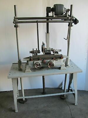Crystal Lake Model 3 Precision Cylindrical Od Grinder Rare