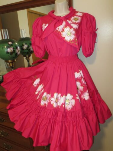MALCO MODES PARTNERS PLEASE PINK embellished SKIRT BLOUSE OUTFIT Lolita sz P