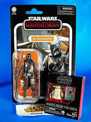 Star Wars Vintage CollectionMANDALORIAN (VC166)Black Series The ChildLot/2
