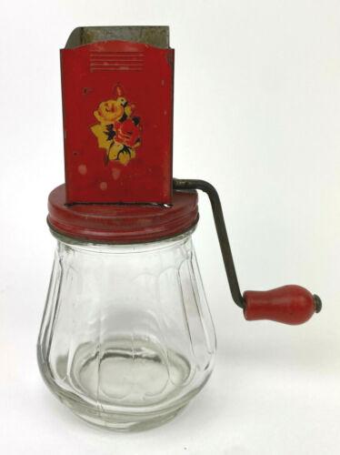 Vintage Red Nut Grinder