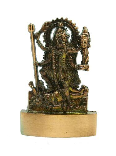 KALI IDOL KAALI IDOL STATUE SYMBOL OF FEARFUL GODDESS 6.5 CM HEIGHT ENERGIZED