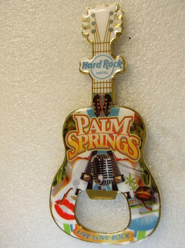 PALM SPRINGS,HOTEL,Hard Rock Cafe,Magnet ,Bottle Opener,V-14