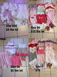 Babies clothing from 000 to 1 Cabramatta West Fairfield Area Preview