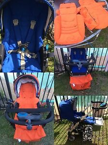 Pram with two sets of washable covers Cabramatta West Fairfield Area Preview