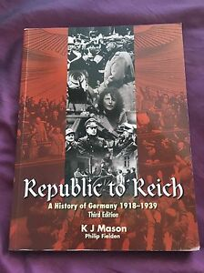Republic to Reich: A History of Germany******1939 Landsdale Wanneroo Area Preview