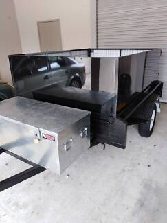 Trailer Copley box and tilt tray Coombabah Gold Coast North Preview
