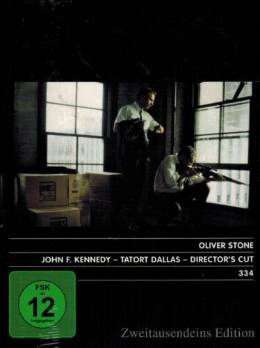 DVD NEU/OVP - John F. Kennedy (JFK) - Tatort Dallas - Director's Cut