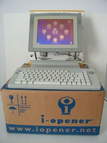 Vintage Nepliance i-Opener Computer & Accessories Factory Box Tested Works
