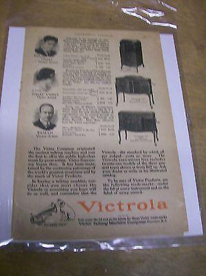 Original 1924 Victrola Magazine Ad