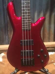Performer 4 &5 Bass by Spector Black & Metallic Red @ Music Park Victoria Park Victoria Park Area Preview