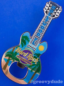 Hard Rock Cafe Guitar Bottle Opener Magnet HOLLYWOOD FL Seminole Hotel & Casino