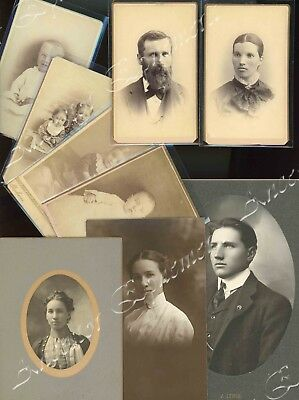 BEECHEL Family Philip MOHLER Eleanor photos IA France Jennie Edith Charles John