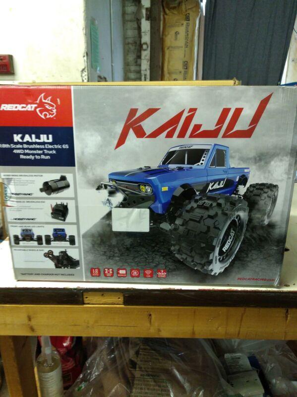 Redcat Racing Kaiju 1:8 Scale Monster Truck RTR- 6S Ready, Blue (Kaiju-Blue)