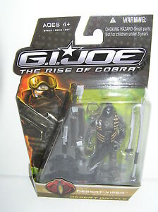 GI Joe Desert-Viper Desert Battle Rise of Cobra Movie ROC Hasbro Sealed