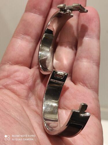 Bracelet hermès clic clac h noir