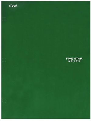 Mead Five Star 4 Pocket Paper Folder Color May Vary 1 Ea Pack Of 2