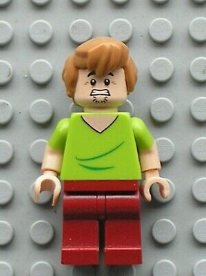 LEGO Scooby-Doo Minifig Shaggy Rogers Closed Mouth Ref scd001 Set 75900 75901