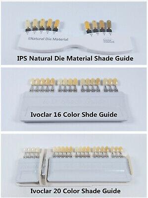 Ivoclar Vivadent Dental Teeth Shade Guide Porcelain A-d Ips Natural Die Abutment