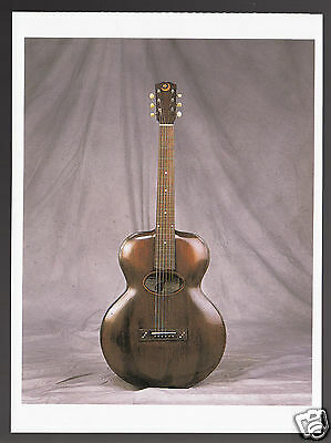 1900 ARCHTOP Orville H. Gibson Classic Guitar PHOTO MODERN POSTCARD