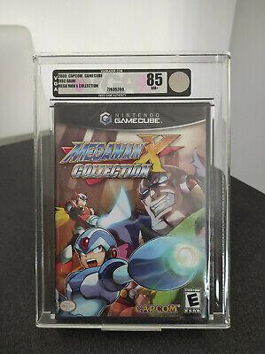 Mega Man X Collection - Gamecube GRADED 85 NM+