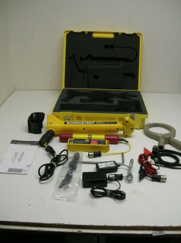 Schonstedt XTpc 33kHz and sonde Cable/Pipe Utility Line Tracer Magnetic Locator