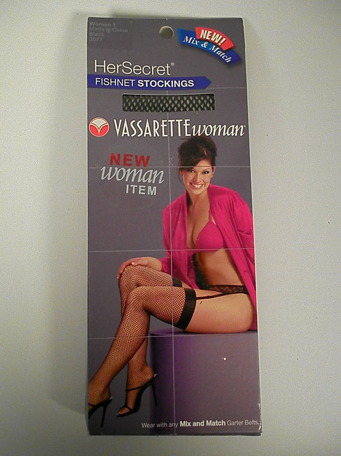 Vassarette Exotic Stripper Fishnet Thigh Highs Woman 1,, ...