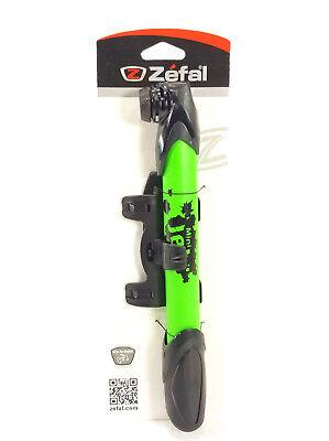 ZEFAL MOUNTAIN BIKE BICYCLE MINI FRAME PUMP, GREEN (Mini Frame Pump)