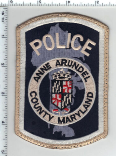 Anne Arundel County Police (Maryland) uniform take-off patch from 1980